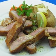 豚肉のミラネーゼ